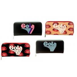 Portafoglio da donna  GOLA in pelle disponibile in vari colori