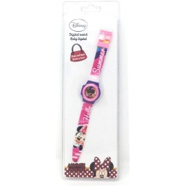 OROLOGIO DA POLSO DIGITALE MINNIE MOUSE DISNEY IN CONFEZIONE REGALO