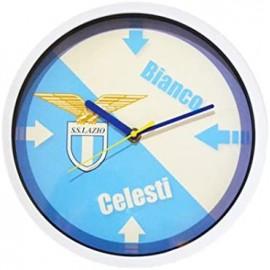SS Lazio - Orologio da parete rotondo con stemma del club