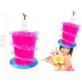 """Cappello """"Happy Birthday"""", Berretto di Compleanno con Candele, Cappellino per Party & Feste"""