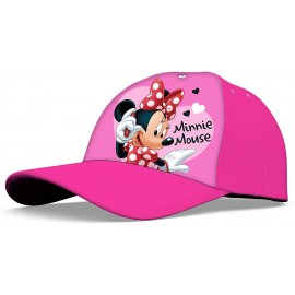 CAPPELLO MINNIE MOUSE DISNEY CON VISIERA ESTIVO FEMMINUCCIA