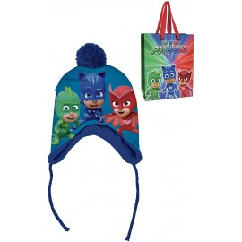 Cappello Invernale Peruviano PjMasks in bustina regalo Bambini