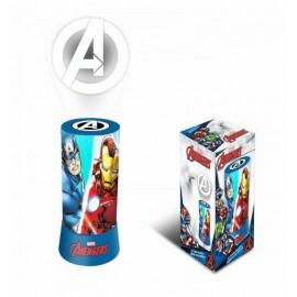 Lampada da notte comodino Marvel AVENGERS luce proiettore a LED BAMBINO CAMERA