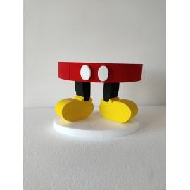 Alzatina per dolci /Torte in polistirolo  Topolino – Mickey Mouse