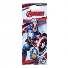 Collana con Bracciale e pendolo Capitan America Marvel