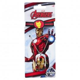 Collana con Bracciale e pendolo Iron Man Marvel