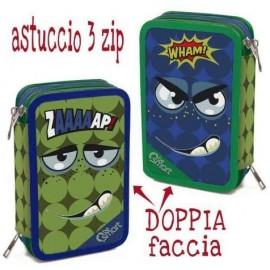 ASTUCCIO TRIPLO DOUBLE ZAAP BE SMART 1/24 Giotto completo accessori originali
