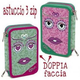 ASTUCCIO TRIPLO DOUBLE FUNKY BE SMART 1/24 Giotto completo accessori originali