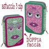 ASTUCCIO TRIPLO DOUBLE FUNKY BE SMART 1/24 Giotto completo accessori originali