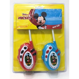 MICKEY DISNEY TOPOLINO WALKIE TALKIE MIC0500 BAMBINI