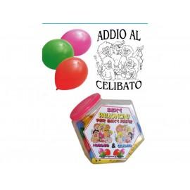 SET DA 12 PALLONCINI LATTICE PER FESTA ADDIO AL CELIBATO