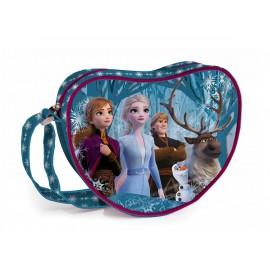 Borsa Tracolla cuore Bambina Disney Frozen 20x18x4cm