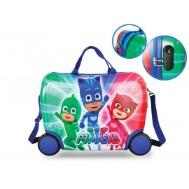 TROLLEY PJ MASKS MARVEL DA VIAGGIO 4 RUOTE TRAINABILE CM.50 IN ABS