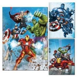 Set da 10 Quaderno Avengers  Marvel maxi Scuola elementare