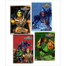 Set da 12 Quaderno GORMITI Marvel maxi Scuola elementare
