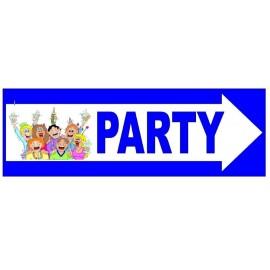 CARTELLO FESTONE PARTY IDEA REGALO PER FESTE & PARTY