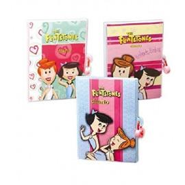 Diario segreto  Flintstones Girl  morbido  con lucchetto per bambina/ragazza coloratissimo