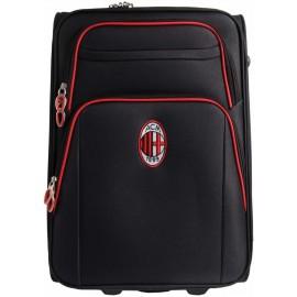 Valigia Trolley AC MILAN Bagaglio a Mano 52x35x20 2 Ruote Prodotto Ufficiale