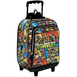 Marvel Tartarughe Ninja Trolley e Zaino Scuola Separabile - Bambino - Prodotto Originale