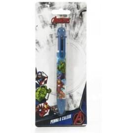 Penna in blister Avengers a sei colori con laccio Marvel Bambino