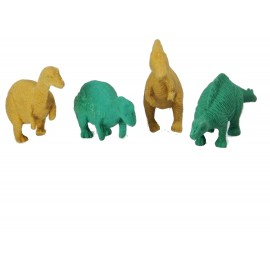 Set 50 Gomme da Cancellare a forma di Dinosauro cm 7