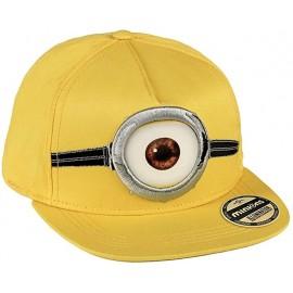 Minions Cappello NewEra con visiera 3D rapper adulto Chiusura regolabile in plastica dietro.