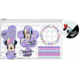 Disney Minnie Mouse set capelli  Astuccio Specchio + Pettini + Elastici
