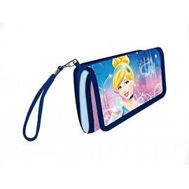 Portafoglio Disney Principesse Bambina  Multicolore 15x10