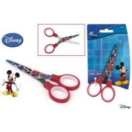Forbici per bambini Disney Mickey Mouse Topolino con punta tonda. Scuola e tempo libero