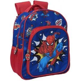 Zaino Asilo Spiderman Marvel Uomo Ragno Tasca Frontale Scuola Bambino CM.30 -