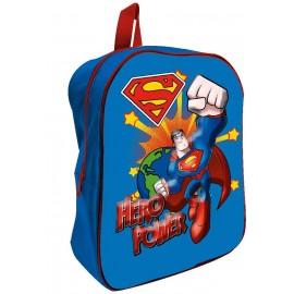 ZAINO ASILO 3D SUPERMAN MARVEL BORSA SCUOLA CM.32 BAMBINO