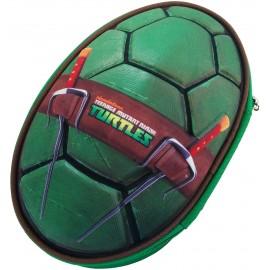 Astuccio Scuola Porta Pastelli Tartarughe Ninja 3D 29 x 40 x 15 cm