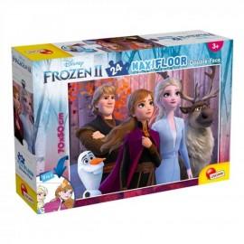 Puzzle Disney Frozen Double-Fac - 24 Pezzi Maxi Giochi e colora