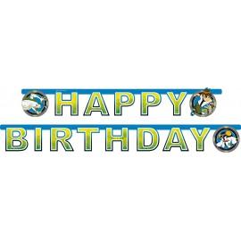 FESTONE  COMPLEANNO BAMBINO BEN10 HAPPY BIRTHDAY 1,80MT