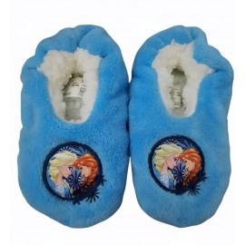 Pantofole Disney Frozen invernali da Bambina in tessuto Morbido tg 29-30