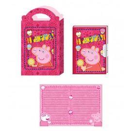 Diario segreto con scatola regalo Peppa Pig