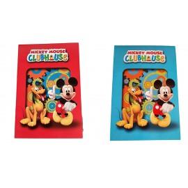 Biglietto Augurale Disney Mickey & Pluto  CM 17X11 Compleanno e Festa