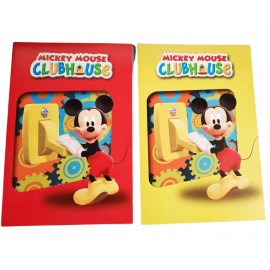 Biglietto Augurale Disney Mickey CM 17X11 Compleanno e Festa Topolino