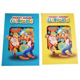 Biglietto Augurale Disney PLUTO CM 17X11 Compleanno e Festa Topolino
