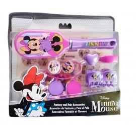 Set spazzola e accessori per capelli Disney di Minnie Mouse Bambina