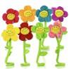Peluche Fiore della Margherita Con Flessibile Steli di Girasole Regolabile 60 cm